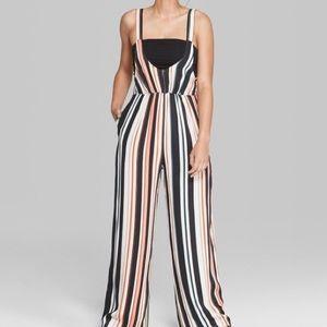 Wild Fable Striped Jumpsuit Size XXL